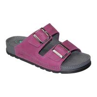 SANTÉ Dámské pantofle fialové 1 pár, Velikost obuvi: 37