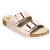 SANTÉ Dámské pantofle růžové 1 pár, Velikost obuvi: 36