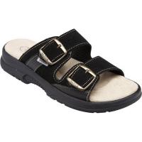 SANTÉ Dámské pantofle černé 1 pár, Velikost obuvi: Velikost obuvi 37