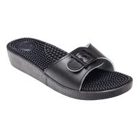 SANTÉ Dámské pantofle černé 1 pár, Velikost obuvi: 36