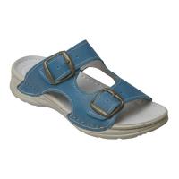 SANTÉ Dámská pantofle tyrkysová 1 pár, Velikost obuvi: 38