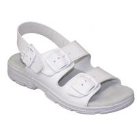 SANTÉ Dámské sandále bílé 1 pár, Velikost obuvi: 36