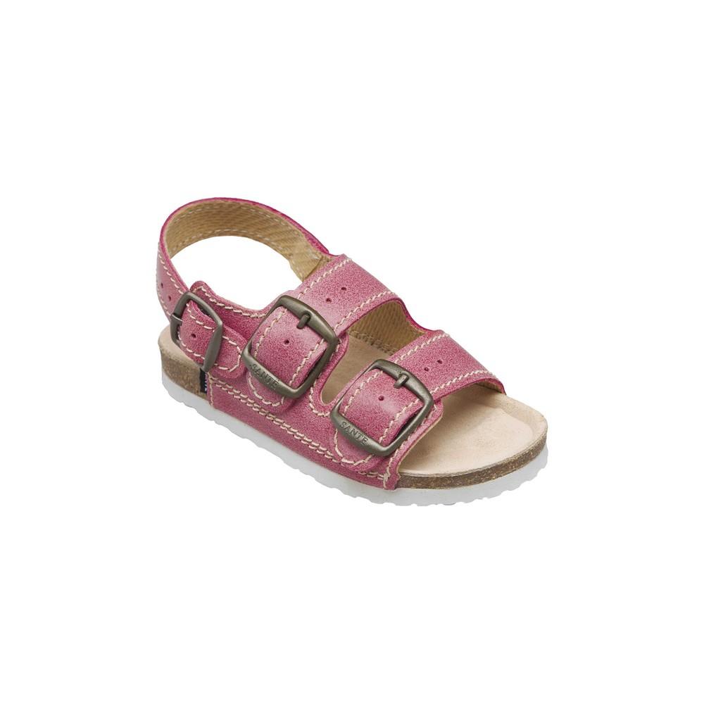 SANTÉ Dětské sandále červené 1 pár, Velikost obuvi: 31