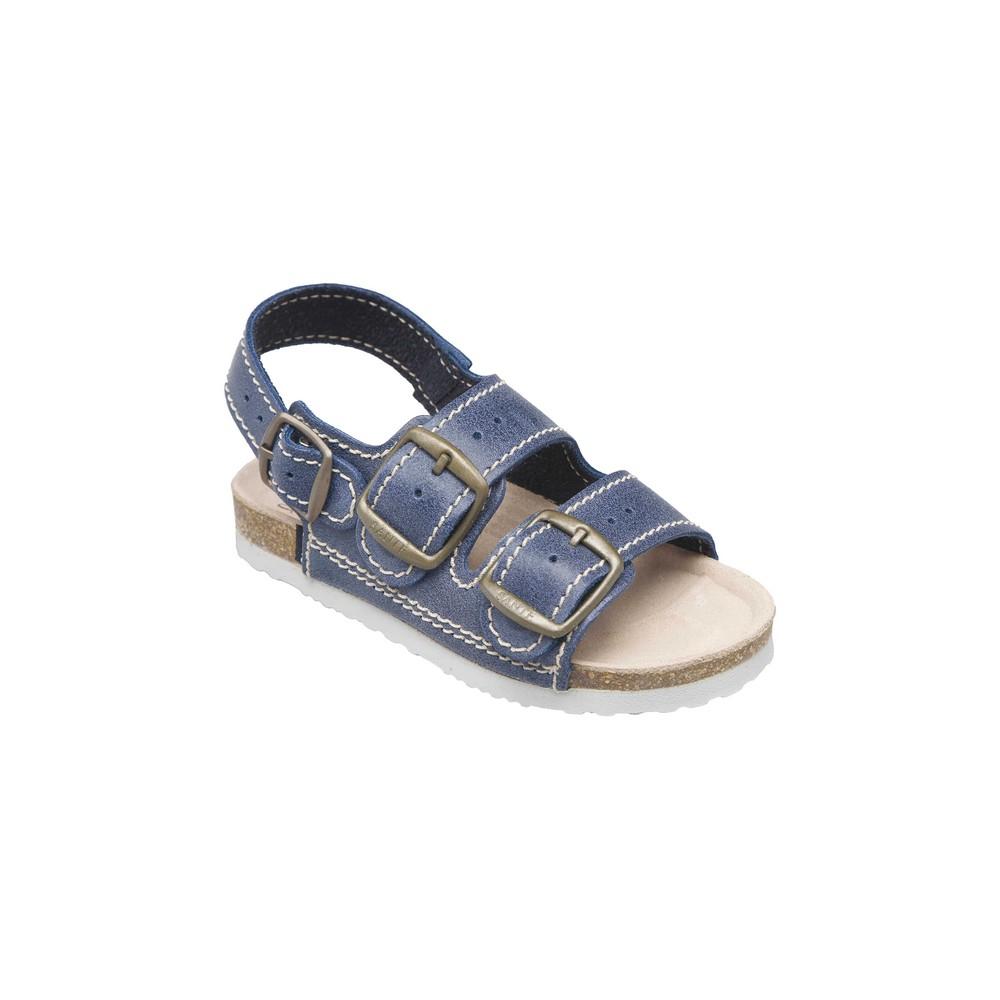SANTÉ Dětské sandále modré 1 pár, Velikost obuvi: 31