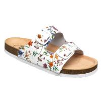 SANTÉ Flora dámské pantofle bílé 1 pár, Velikost obuvi: 36