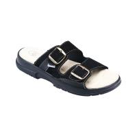 SANTÉ Pánské pantofle černé 1 pár, Velikost obuvi: 44
