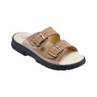 SANTÉ Pánské pantofle hnědé 1 pár, Velikost obuvi: 42