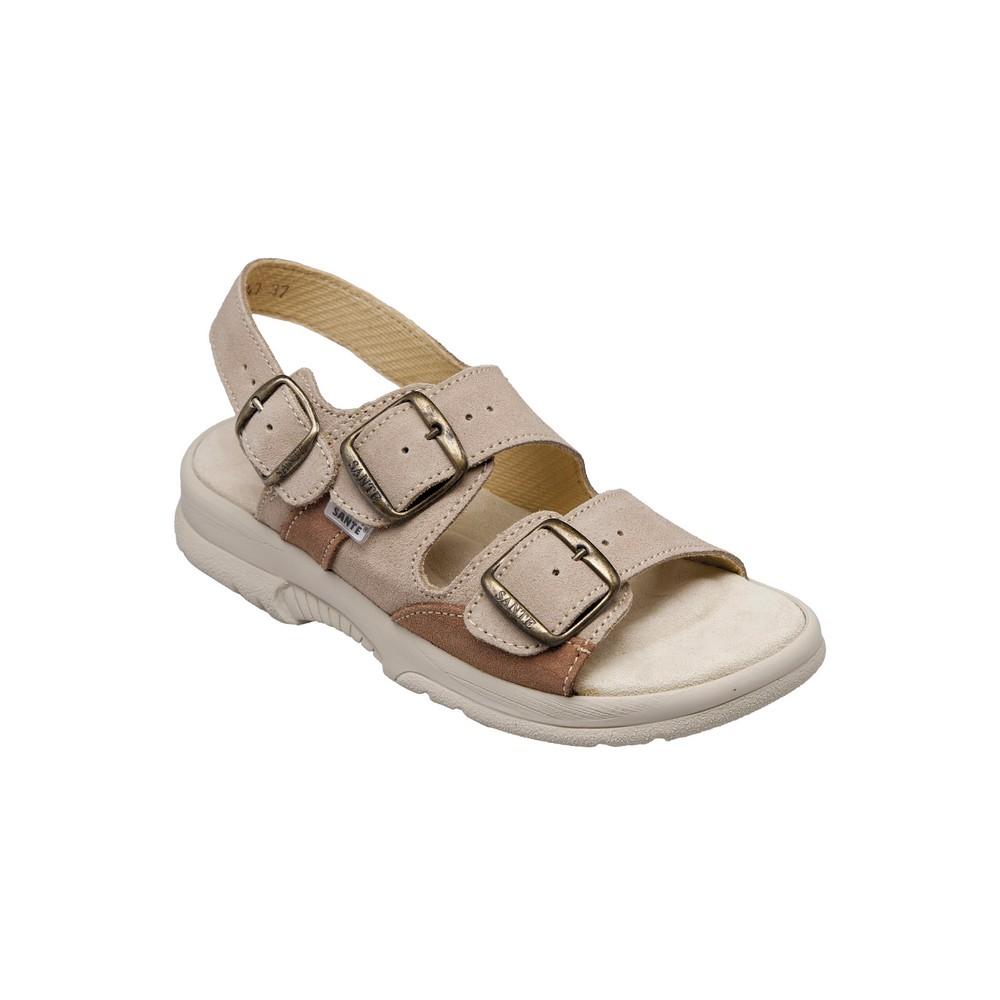 SANTÉ Pánské sandále béžové 1 pár, Velikost obuvi: 42