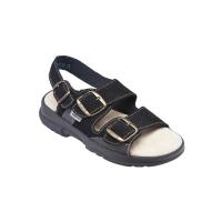 SANTÉ Pánské sandále černé 1 pár, Velikost obuvi: 43