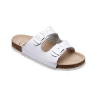 SANTÉ Pánské pantofle bílé 1 pár, Velikost obuvi: 42
