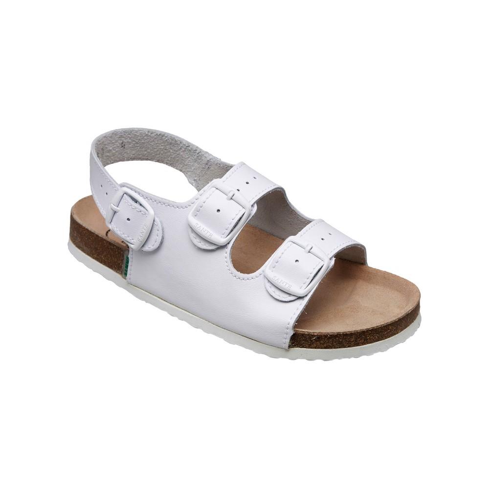 SANTÉ Pánské sandále bílé 1 pár, Velikost obuvi: 42