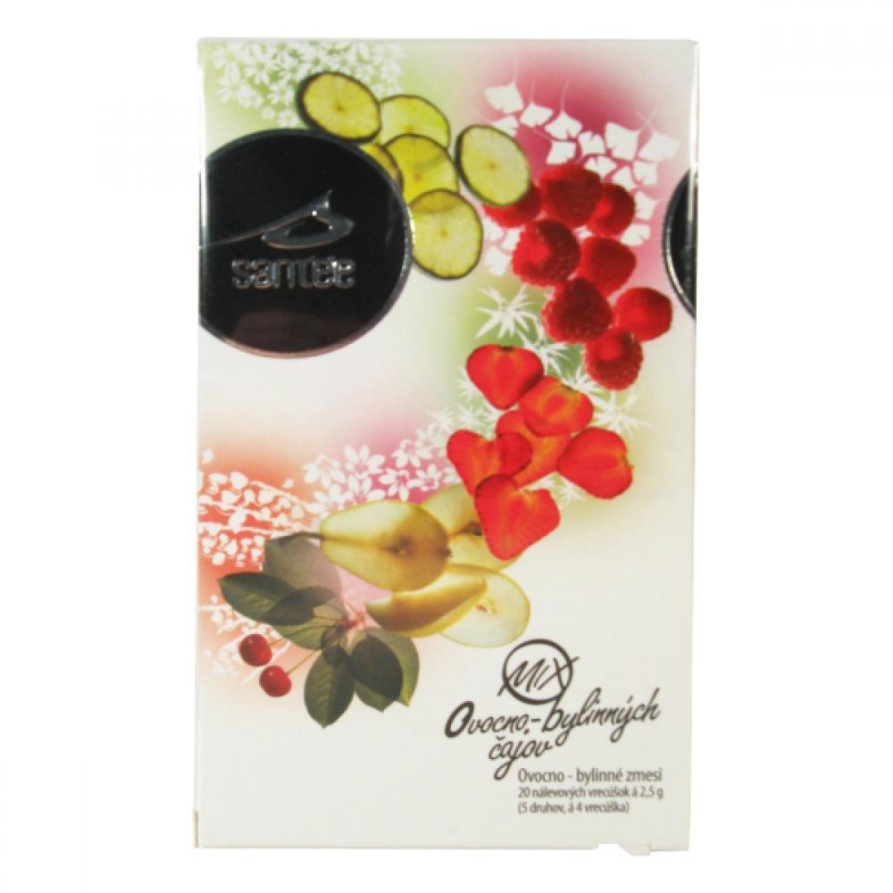 Santée čaj Mix ovocno bylinný n.s. 20 x 2.5 g