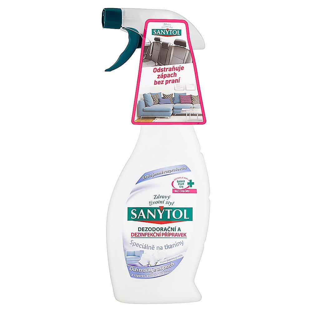 Sanytol dezodorační a dezinfekční přípravek speciálně na tkaniny 500 ml