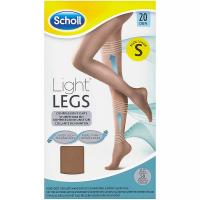 SCHOLL Light Legs Kompresní punčochové kalhoty Nude S 20 DEN