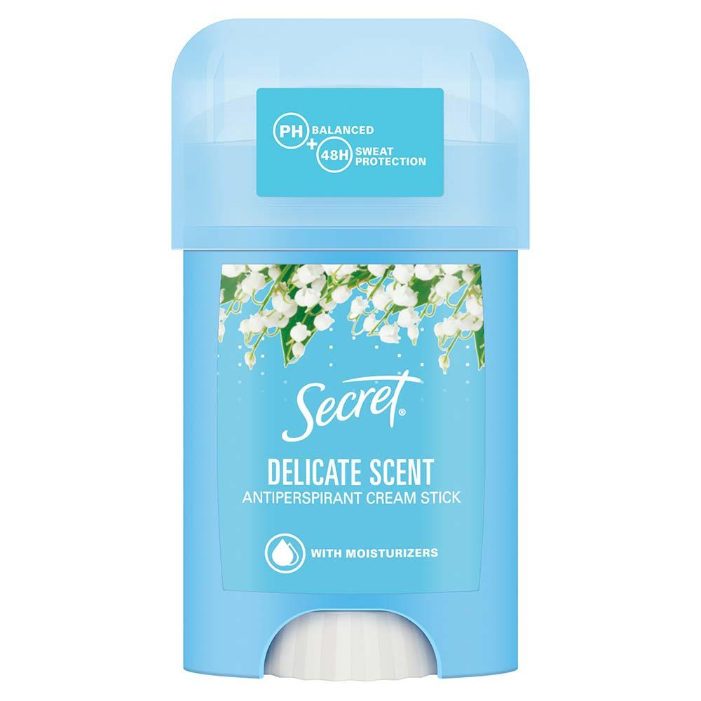 SECRET Krémový antiperspirant Delicate 40 ml