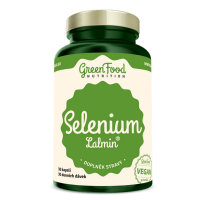 GREENFOOD NUTRITION Selen lalmin 30 kapslí