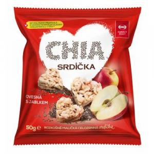SEMIX Müsli srdíčka jablko a chia 50 g