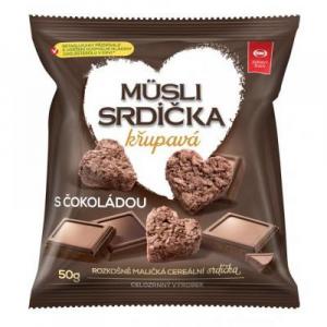 SEMIX Müsli srdíčka křupavá s čokoládou 50 g