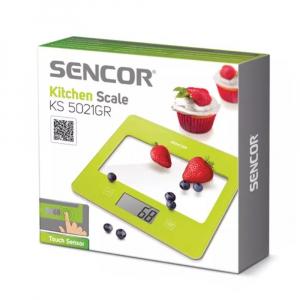 SENCOR Kuchyňská váha SKS 5021GR zelená