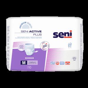 SENI Active plus absorpční kalhotky 7 kapek vel. M 10 kusů