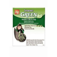 SERGEANT´S Green obojek pro psy 60 cm 1 kus