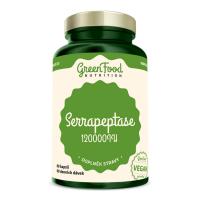 GREENFOOD NUTRITION Serrapeptase 120000IU 60 kapslí
