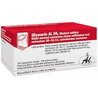SILYMARIN AL 50 mg 100 tablet