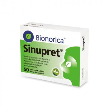 SINUPRET Tablety 50 kusů