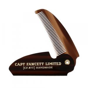 CAPTAIN FAWCETT Skládací hřeben na knír