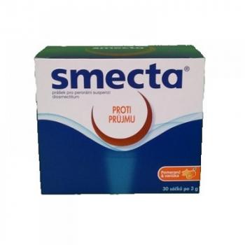SMECTA 3g Prášek pro perorální suspenzi 30 sáčků