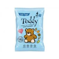 Snack kukuřičný Teddy mrkev a dýně BIO 4x15g