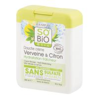 SO´BIO Bio Sprchový gel Citronová verbena 300 ml
