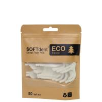 SOFTDENT ECO Dentální párátka s nití 50 ks