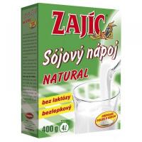 MOGADOR Sójový nápoj Zajíc natural 400 g