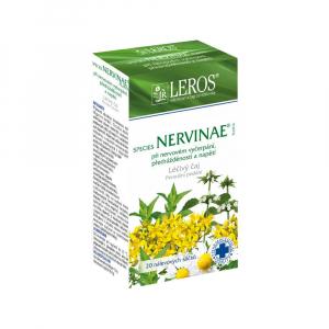 LEROS Léčivý čaj Species Nervinae Planta 20 nálevových sáčků