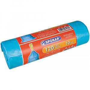 SPOKAR Zatahovací pytle odpadky 120-(10ks/fol)