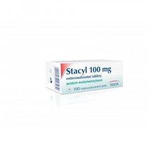 STACYL 100 mg 100 Enterosolventních tablet