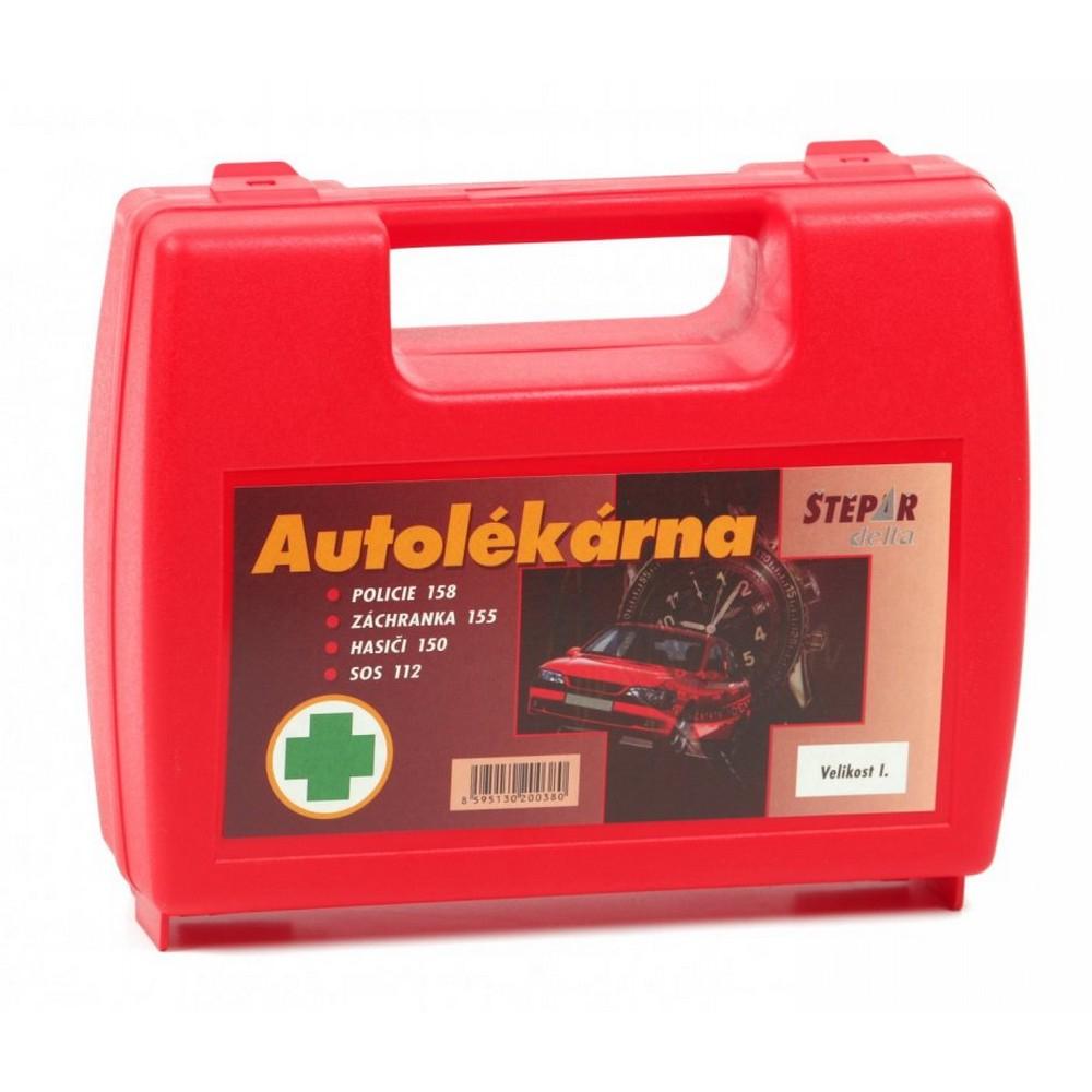 Autolékárnička I-kufřík-vyhláška 182/2011 Sb.
