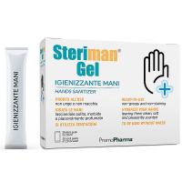 STERIMAN Dezinfekční gel na ruce 20x 2,8 ml