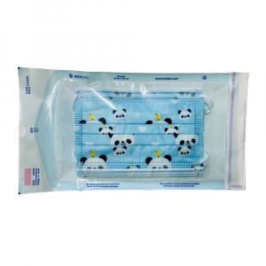 STERIWUND Rouška dětská modrá s gumičkami 5 kusů