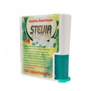 STEVIA Sladidlo tablety - dávkovač 160 tablet