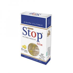 STOPFILTR Slim Filtr na cigarety 25 kusů