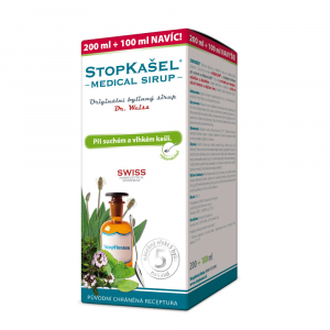 DR. WEISS Stopkašel Medical sirup 200+100 ml