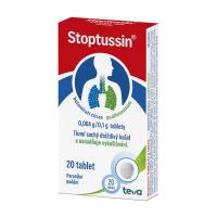 STOPTUSSIN 0,004g/0,1g 20 tablet