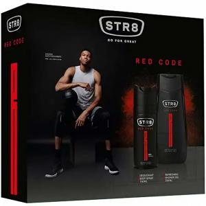 STR8 Red Code Dárková kosmetická sada pro muže
