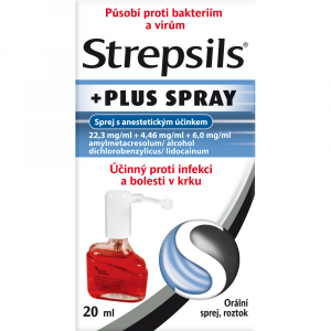 STREPSILS Plus spray 20 ml