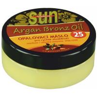 SUN VITAL Opalovací máslo s arganovým olejem OF 25 200 ml