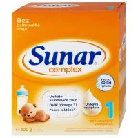 SUNAR Complex 1 Počáteční kojenecké mléko od 0 - 6 měsíců 300 g