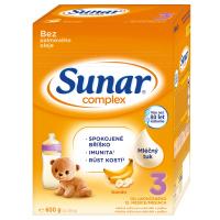 SUNAR Complex 3 Banán Pokračovací batolecí mléko od 12. měsíců 600 g