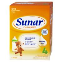 SUNAR Complex 4 Pokračovací batolecí mléko od 24 měsíců 600 g
